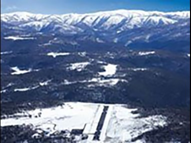 Mount Hotham runway Source: Mount Hotham Airport and Resort