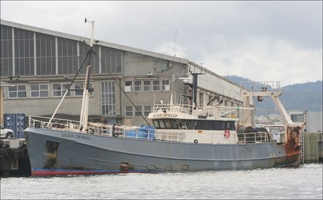 Figure 1: Saxon Onward, alongside in Hobart, Tasmania, 2010. Source: Theo Van Loon