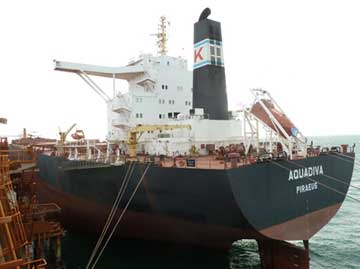 Bulk carrier, Aquadiva