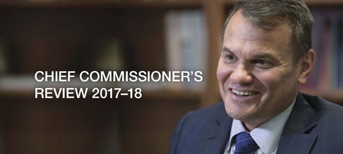 Chief Commissioner's Review 2017-18