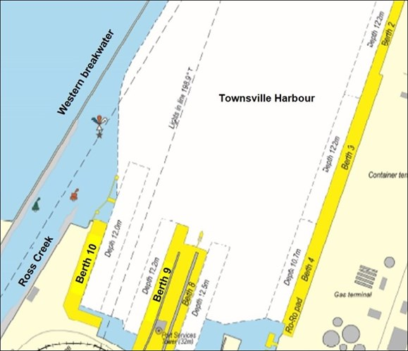 Figure 6: Townsville Inner Harbour. Source: Maritime Safety Queensland