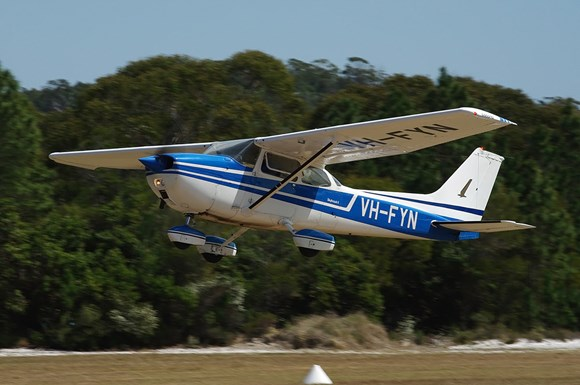 Figure 3: VH-FYN, taken in September 2009 at Dunwich, Queensland