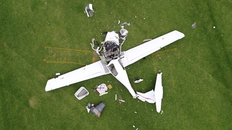VH-MPM accident site. Source: ATSB