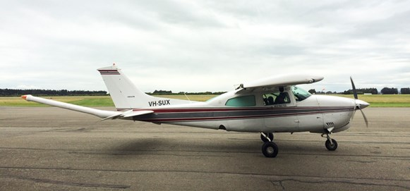 Figure 6: Cessna 210M, registered VH-SUX. Source: Operator