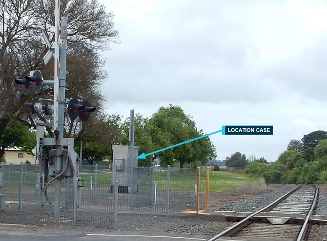 Position of a typical RLX location case (Hart St, Colac)
