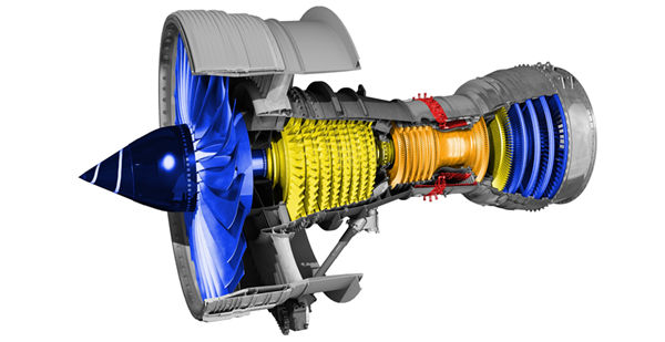 Figure 4: Trent 700 cutaway diagram.