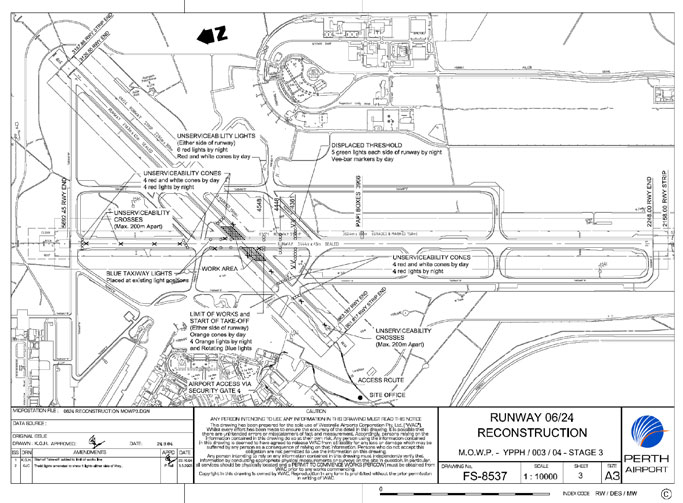 Appendix 3 Perth Airport runway reconstruction