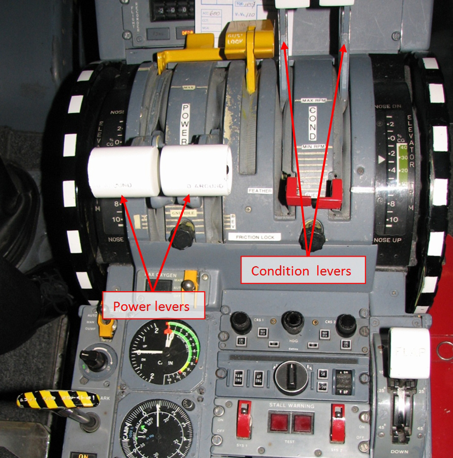 Overhead Aircraft Engine Control Lever : Investigation ao loss of control embraer s a