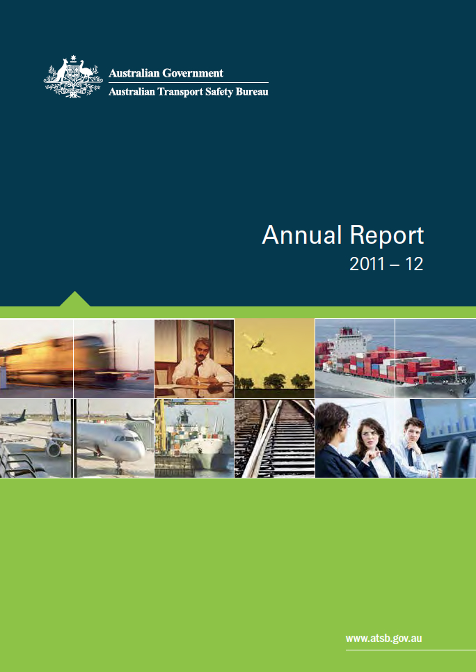 Download complete document - ATSB Annual Report 2011-12