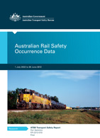 Australian Rail Safety Occurrence Data 1 July 2002 to 2012