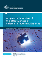 A Systematic Review of the Effectiveness of Safety Management Systems