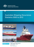 Download complete document - Australian Shipping Occurrence Statistics 2005 to 2012