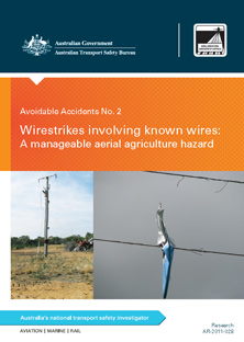Download complete document - Wirestrikes involving known wires: A manageable aerial agriculture hazard