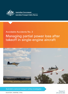 Download complete document - Managing partial power loss after takeoff in single-engine aircraft