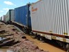 Derailment of freight train 7SP3 near Roto NSW on 3 March 2012. Source: ATSB