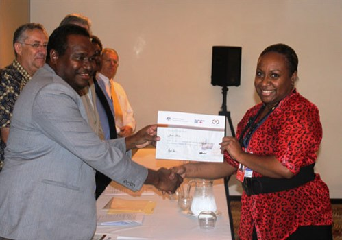 PNG Civil Aviation Minister awards certificate of completion