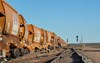 Derailed ore wagons. Source: ATSB.