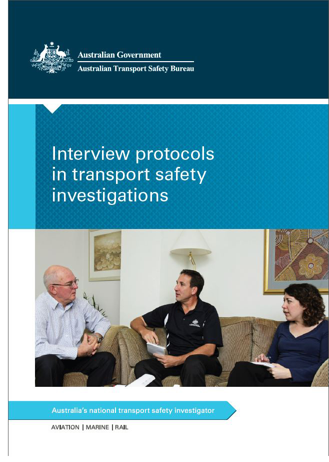 Download complete document - Interview protocols in transport safety investigations brochure