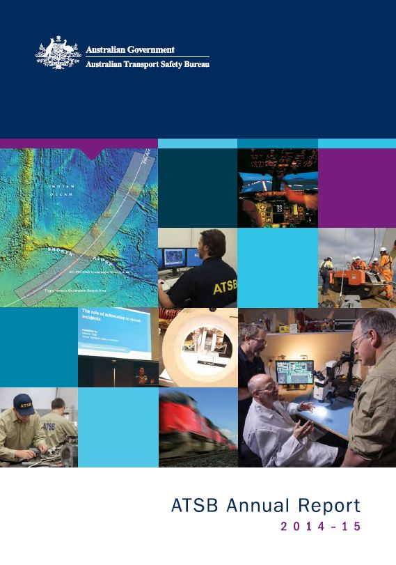 Download complete document - PDF version of the ATSB Annual Report 2014-15