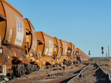 Derailed or wagons. Source: ATSB