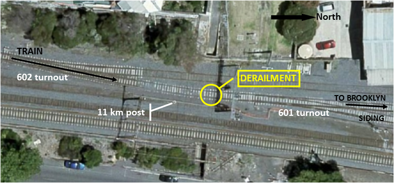 Figure 2: Track layout, shown after restoration works