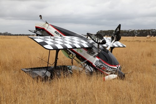 Engine failure involving an amateur-built Pitts S1S