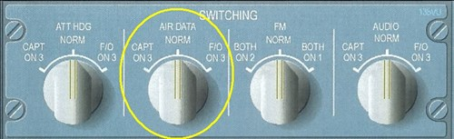 Figure 3 Air Data Swithching