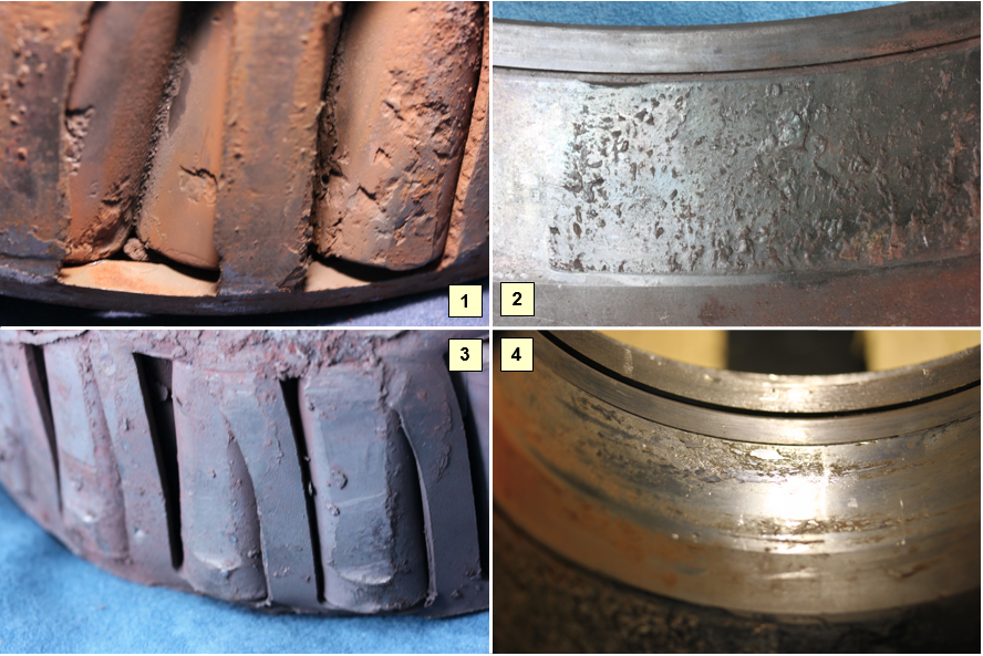 Figure 7: Remains of the failed bearing. Source: ATSB