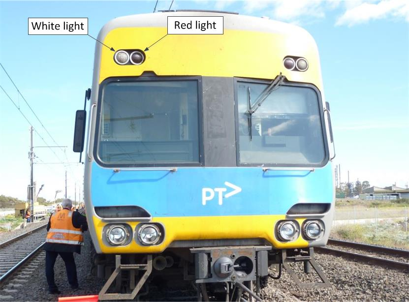 Figure 8 - Comeng train lights