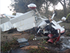 Figure 2: VH-KLV after the accident. Source: Western Australia Police