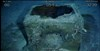 ROV video frame grab from dive 13 showing metal box debris almost certainly from the shipwreck 700 m to the west. Source: ATSB