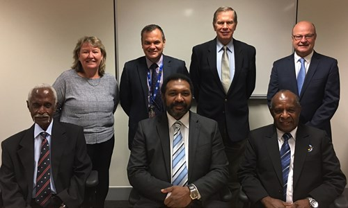ATSB Commissioners and the Commissioners of the PNG Accident Investigation Commission (AIC)