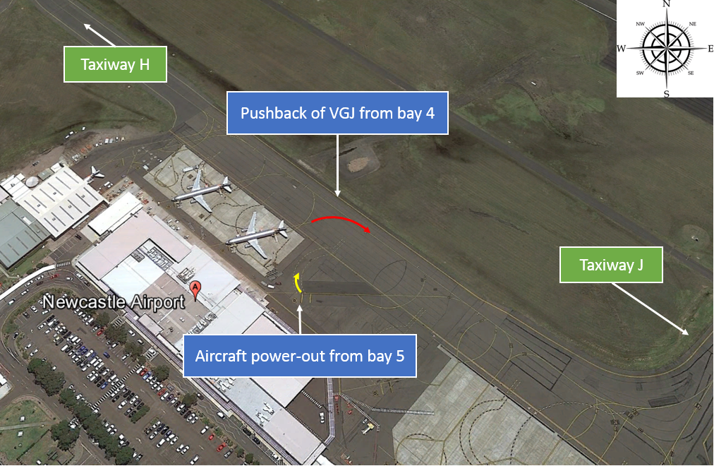 Figure 1: Newcastle Airport apron