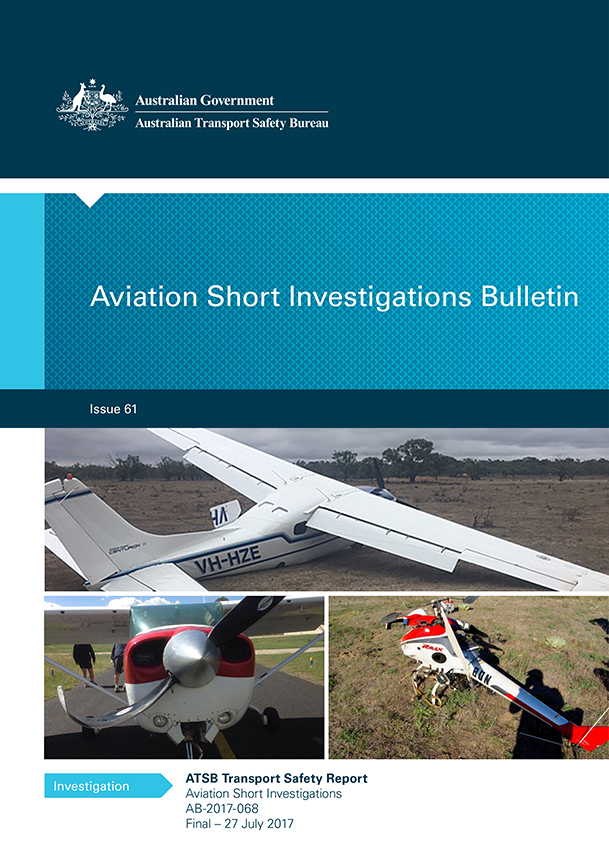 Download complete document - Aviation Short Investigations Bulletin: Issue 61