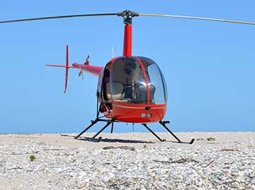 Robinson R22 helicopter registered VH-YLY