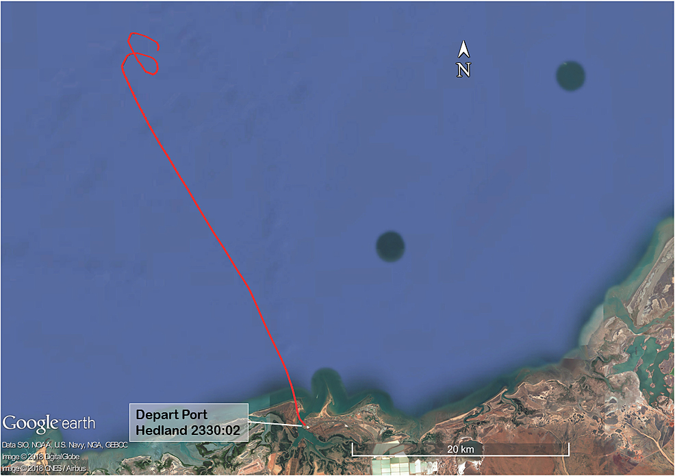 Investigation: AO-2018-022 - Collision with water involving twin