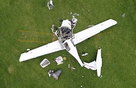 Diamond DA40, VH-MPM, accident site 42 km west of Southport Aerodrome, Queensland