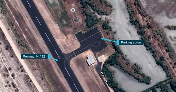 Figure 1: Pormpuraaw Airport, Queensland.