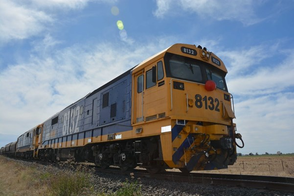 Figure 7: 81-class locomotive at front of train 8838N.