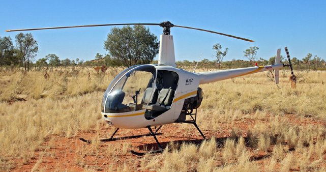 Figure 2: Example R22 helicopter.
